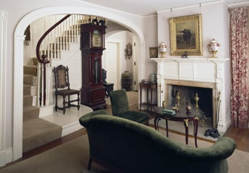 Merwin House, Stockbridge, MA. Parlor.