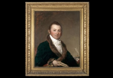 Harrison Gray Otis portrait by Gilbert Stuart, 1809.