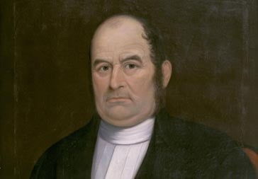 Unidentified artist; Benjamin Sawyer (1782-1871) was the minister at Rocky Hill Meeting House from 1835 to 1871.