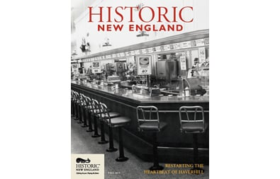 Historic New England Magazine, Fall 2015 ( Vol. 16, No. 2)