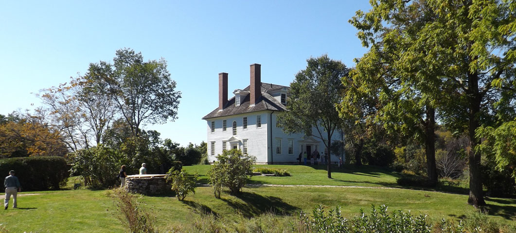attractive hamiltonhouse #3: Todayu0027s Hamilton House landscape reveals its eighteenth-century mercantile  roots, nineteenth-century agrarianism, and the Colonial Revival style that  has ...