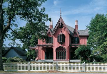 Roseland Cottage - exterior