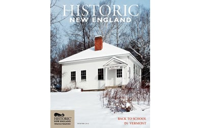 Historic New England Magazine, Winter 2015 ( Vol. 15, No. 3)
