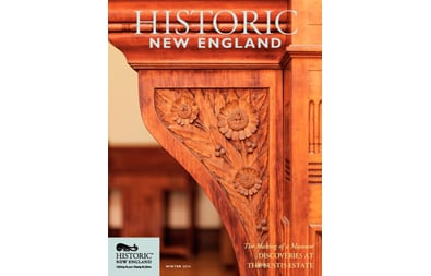 Historic New England Magazine, Winter 2016 ( Vol. 16, No. 3)