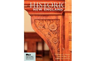Historic New England Magazine, Winter 2016 ( Vol. 16, No. 3)