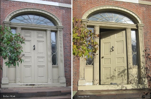 Gentil Conservation And Repair Work Have Improved The Front Entrance To The Otis  House, The Last Surviving Mansion In What Was Bostonu0027s Most Elite ...