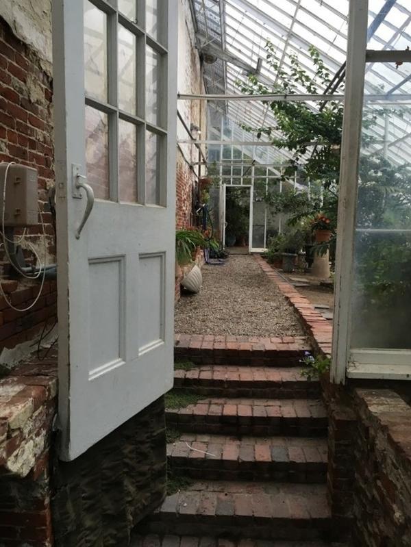 Lyman Estate Greenhouse, Grape House (c. 1804)
